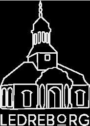 Ledreborg Logo Hvid