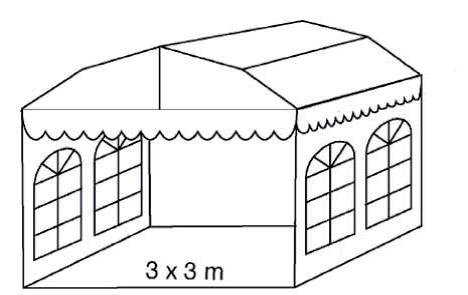 Teltpavillon